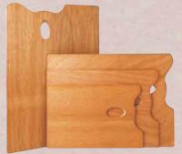 Tavolozze di legno Rettangolari
